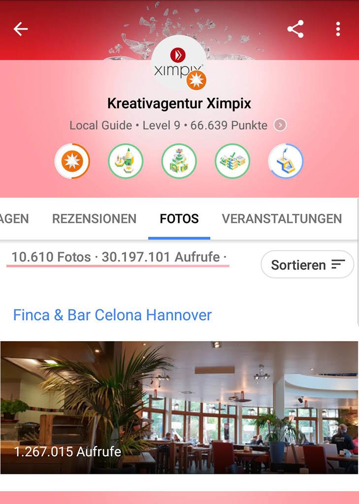 googel local level 9