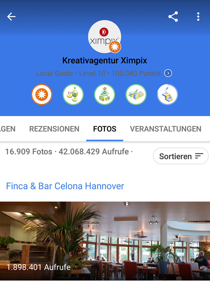 Google Local Level 10