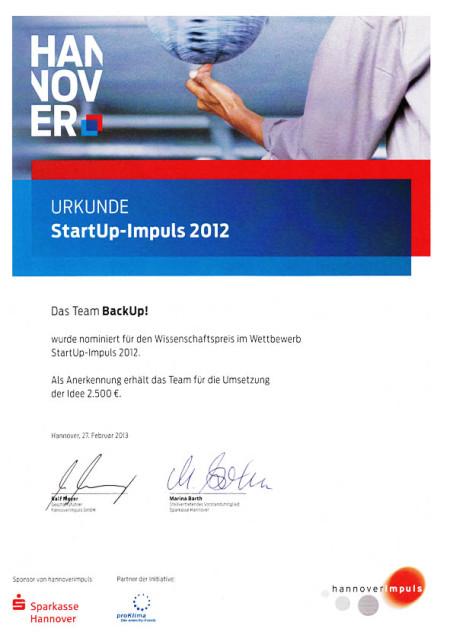 portfolio_wissenschaftspreis_hannoverimpuls_urkunde